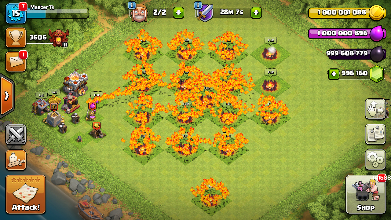 clash of clans download android hack