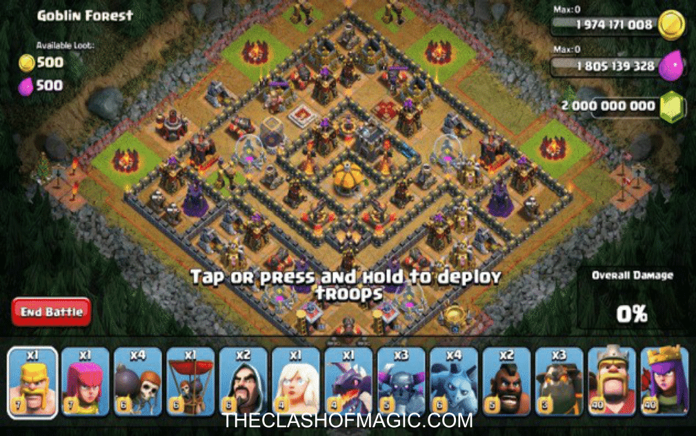 clash of clans hack mod apk ihackedit