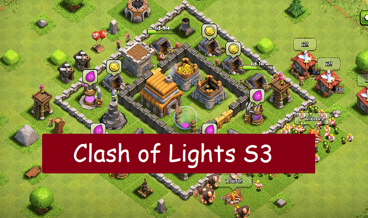 Clash Of Lights APK Download Free COC Private Server { S1 , S2 , S3