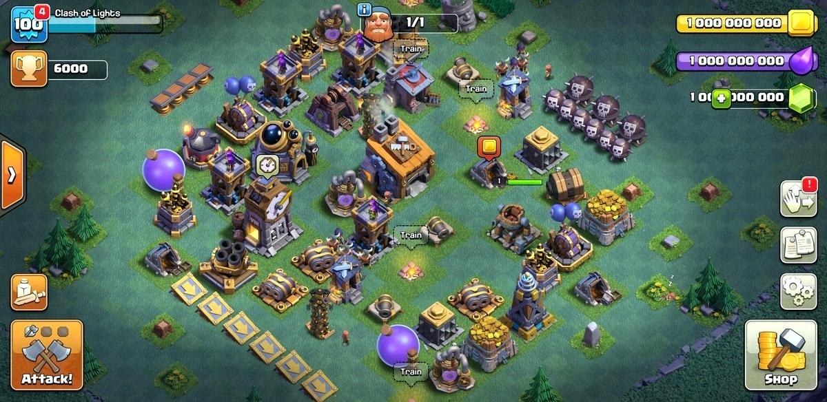 clash of clans mod apk free download private server
